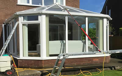 upvc cleaning conservatory cladding and roofline cleaning Peacehaven